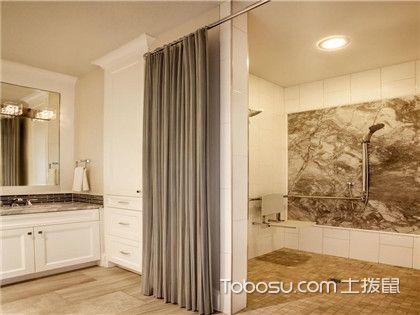 卫浴用具选择技巧,卫生间浴帘选购方法