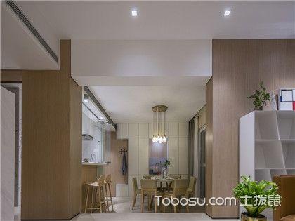 大连70平米房装修预算,60万元打造现代时尚风