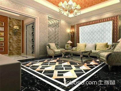 如何设计客厅波打线?轻松玩转客厅装修