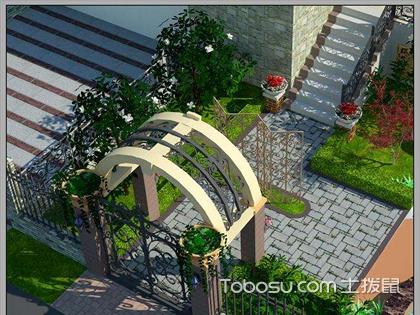 自家小花园设计案例,如何使用绿化植物改善小空间