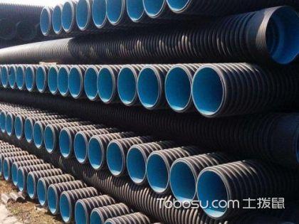 HDPE排水管材尺寸规格及价格