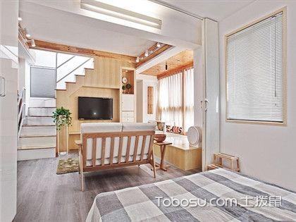 张家港65平米房装修预算案例,北欧家居清新风只要14万元