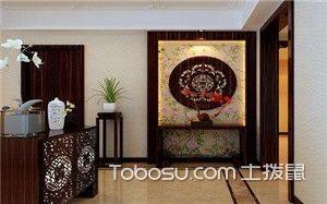 中式玄关设计图片
