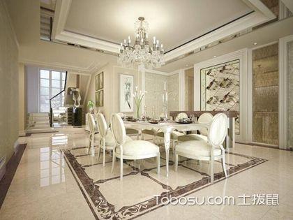 客厅瓷砖造型选择好,给家人营造视觉盛宴