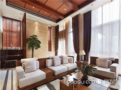 客厅实木沙发效果图赏析,教你学会客厅家具如何搭配
