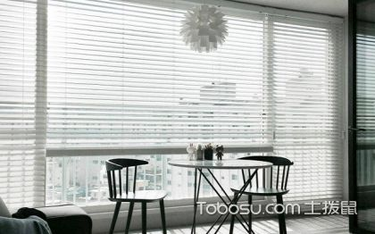 阳台百叶窗帘效果图,阳台百叶窗帘搭配案例