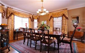 【美式风格窗帘】美式风格窗帘特点_选购_材质与图案_图片