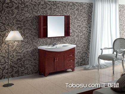 浴室柜的清洁与保养