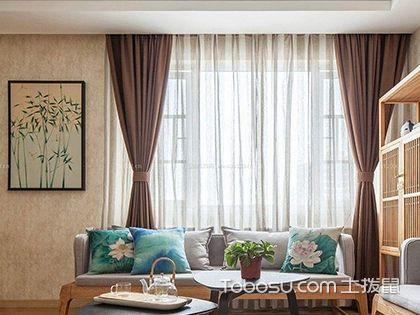 客厅窗帘颜色怎么选?客厅窗帘如何选择搭配
