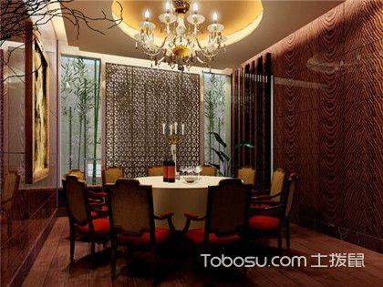 小型中餐馆装修效果图,学几招餐厅装修设计要点