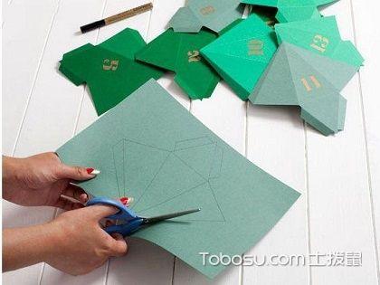 卡纸diy客厅装饰品,卡纸挂钟的制作