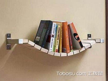废旧电话diy制作书房书架,简单易学省钱小妙招