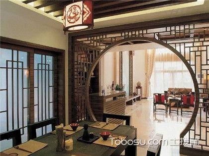 中式墙面装饰收纳柜设计,中式装修的风格