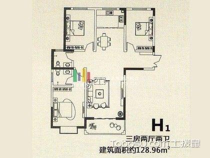 60平方米房子设计图图片
