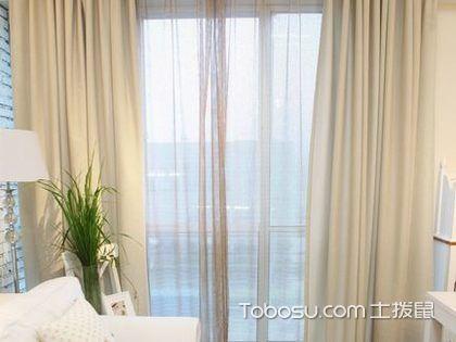 双层窗帘怎么挂,遮阳保暖都靠它