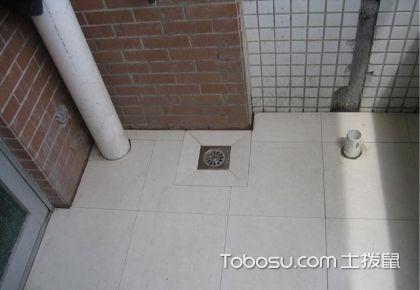 阳台洗衣房地漏如何安装?洗衣房地漏安装方法