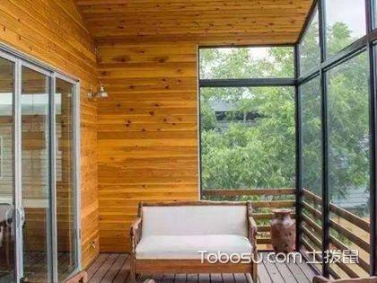 阳台生态木吊顶效果图,阳台生态木吊顶如何安装