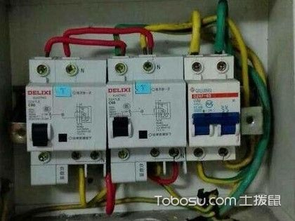 漏电保护器接线图,漏电保护器接线方法