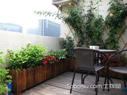 4平米阳台小花园效果图,如何打造阳台小花园