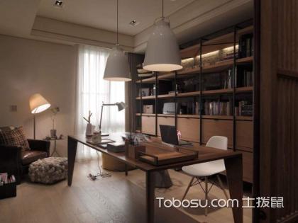 只要收纳做的好,5平米书房如何装修都好看