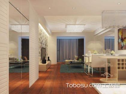 60平米两室一厅3万元预算装修案例,让装修不再迷茫