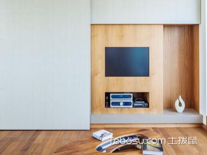 简单大方的电视墙图片,不会过时的电视墙设计新方案