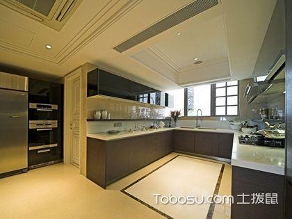 U型廚房裝修效果圖,美觀實用的U型廚房設計