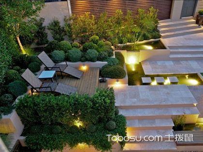 大庭院设计实景图,不同风格的大庭院设计特点