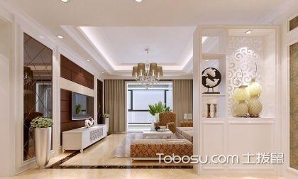 客厅装修中的隔断设计