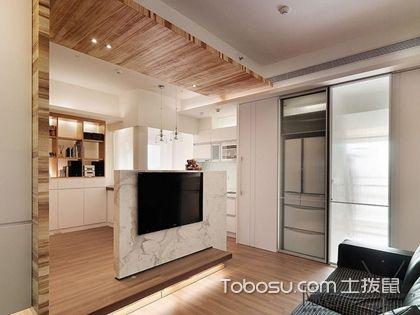 小户型客厅隔断效果图,小空间也可大有隐私!