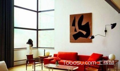 黑红色客厅装修的搭配知识