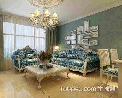 客厅装修设计之墙面配色