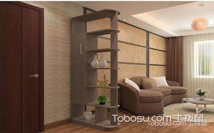 4种客厅隔断墙设计 用隔断墙打造多功能收纳区