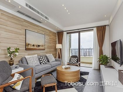 70平米两室一厅装修图,小空间?#37096;?#20197;有大格局