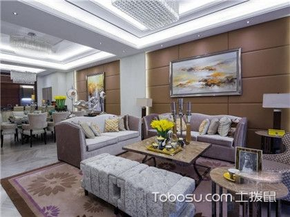 客廳沙發圖片,客廳里的沙發應該如何擺放