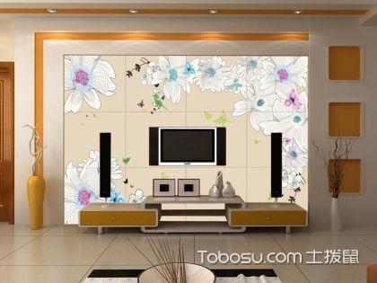 2018客厅装修电视墙设计,客厅影视墙效果图
