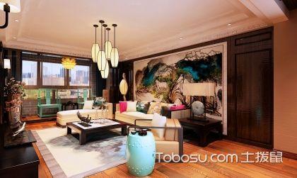 混搭风格客厅装修设计效果图