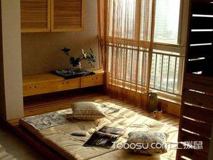 阳台榻榻米装修效果图,极具实用性和观赏性