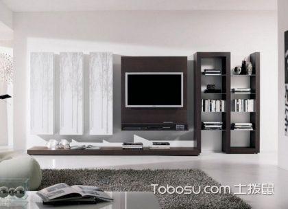 现代风格创意电视背景墙图片