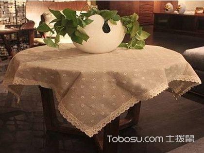 茶幾布圖片大全,客廳茶幾布裝飾效果圖