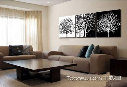 客厅装饰画怎么挂,客厅装饰画摆放技巧