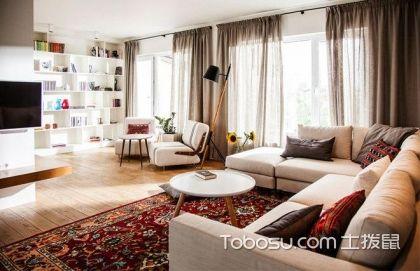 客厅窗帘茶几沙发套家装地毯 这些家具要如何搭配
