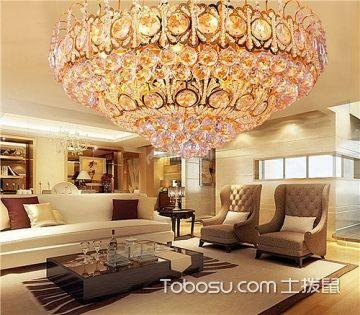 客厅水晶灯风水禁忌 灯饰风水作用