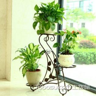 室内客厅花架diy,装饰层架自制图解