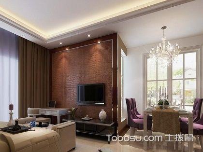 客厅和餐厅连在一起装修效果图,客厅餐厅装修方法