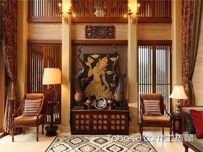 东南亚风格装修图片欣赏,大户型东南亚风格新房装修效果图