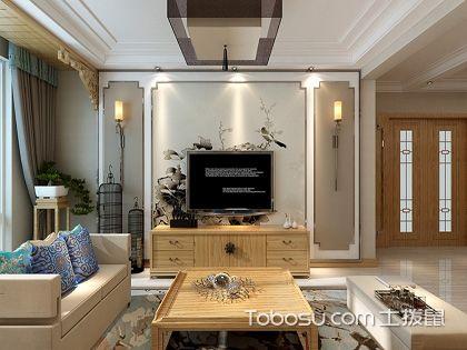 106平米中式装修风格,含蓄内敛的质朴生活