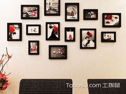 照片墙设计效果图,原来自己动手也可以!