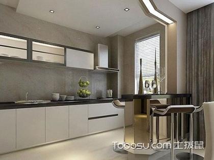 长方形厨房装修效果图,让你的厨房更时尚