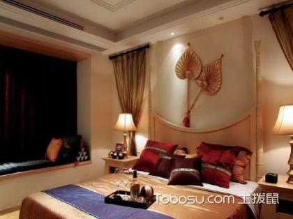 东南亚风格卧室装修案例:将东南亚带回家里来